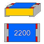 SMD-resistencia 220 Ohm 1% 0,063w forma compacta 0402 utilizarse sin cinturón