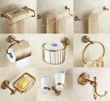 Antique Brass Bathroom Hardware Set Bath Accessories Towel Bar  aj001