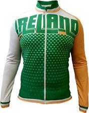Olorun Ireland F/Z Long Sleeve Cycling Jersey M - 2XL