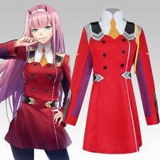 Darling in the Frankxx 02 Zero Two Jacket Cosplay Coat Costume Fancy Dress Anime