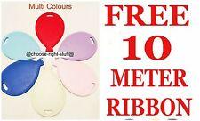 WHOLESALE COLOUR Helium Balloons shape Weights Colours  BALOONS SHAPE RIBBON rib