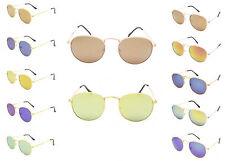 CERCHIO OVALE CIRCOLARE Hippie Vintage Retro Moda Occhiali da sole uv400