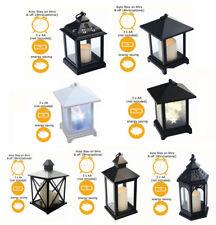 LED Candela Lanterna marocchina Cambia Colore Tremolante Senza Fiamma Lanterna BATTERIA