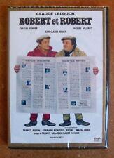 DVD ROBERT ET ROBERT - DENNER / VILLERET / BRIALY - LELOUCH - NEUF