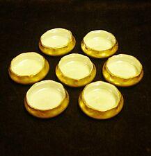 Vintage Individual Porcelain Salt Cellars Set of Seven
