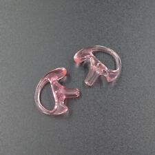1 Pair Ear Buds Earbud Earmold for Walkie Talkie Acoustic Tube Earpiece Headset