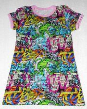 Mädchen  Kurzarm Shirt Gr. 74 - 140  Frosch und Biker Digitaldruck  HANDMADE