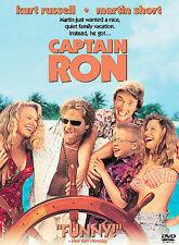 Captain Ron DVD, Kurt Russell, Martin Short, Mary Kay Place, Benjamin Salisbury,
