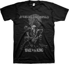 Licensed Avenged Sevenfold A7X Hail To The King Skull T-Shirt Tshirt Tee Shirt