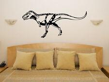Tiranosaurio Rex Trex Dinosaurio Childrens bedroom calcomanía Pared Arte Adhesivo De Imagen