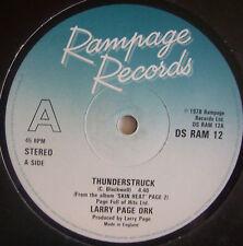 "LARRY PAGE ORK Thunderstruck / Slinky Thighs 12"" Single"