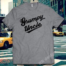 Grumpy Uncle Old Man Men's Club Tshirt Dad Tee Funny Christmas Gift Xmas shirt