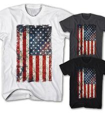 * señores t-shirt vintage estados unidos bandera grunge Old School Rock nuevo s-5xl ug11115 *