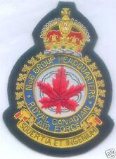 Canada UK RCAF RAF No 6 Group Royal Canadian Headquarters Force Blazer Patch
