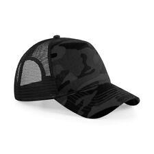 Cappellino Uomo Con Visiera Curva Cappello Mimetico Snapback Beechfield B694