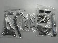 Suzuki GSX R 1000 K9 L0 L1 L2 L3 L4 L5 L6 rear set Fußrastenanlage silber
