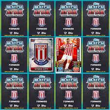 Topps Match Attax 2015 2016 Fußball Karten Base Mom Stoke City-verschiedene