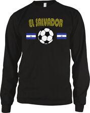 El Salvador National Soccer Team La Azul y Blanco Futbol  Long Sleeve Thermal