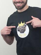 Pug Life Dog T-Shirt Thug Life Top Funny Ideal Gift Cute Doggy TShirt Swag