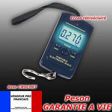 Peson electronique digital Balance Pèse bagage Valise Poisson 40kg 10gr FR