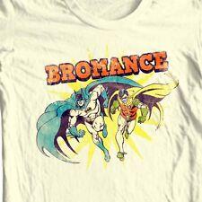 Bat-Man and Robin Bromance T-shirt superhero Gotham DC comic book DCO633