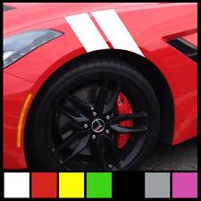 Fender hash Stripe for Car Truck Suv Sticker Decal set racing