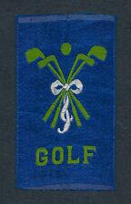 1910 1911 SC12 CANADIAN MISCELLANY BLUE GOLF SILK BEAUTY