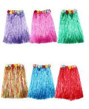 Ladies High Quality Fancy Dress Hawaii Beach Skirts Hula Flower Hawaiian