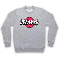 Dreamer Hipster eslogan Retro Fresco Divertido Vintage Adultos Niños Sudadera