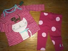 JOULES Baby Poppy Top & Trouser Set 0 - 3m  RRP£27.95  FreeUKP&P
