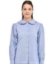 Peter Pan Collar Long Sleeve Blouse | Cotton Lane