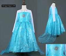 Frozen - Vestito Carnevale Elsa Dress up Elsa Costumes Cosplay 789043