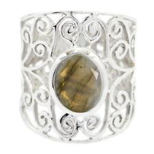 Labradorite ring Sterling Silver Ring Grey Ring art & collectibles Gemstones AU
