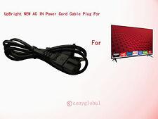 "AC Power Cord Cable For Vizio 32"" 43"" 48"" 50"" 55"" 60"" 65"" 70"" Smartcast LED HDTV"