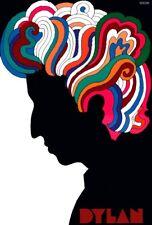 Poster BOB DYLAN - Milton Glaser - Manifesto 50x70