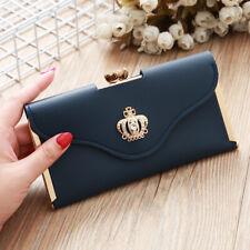 Fashion Lady Women Leather Clutch Wallet Long Card Holder Case Purse Handbag