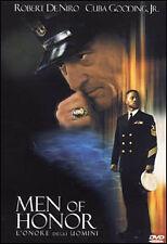 Dvd **MEN OF HONOR** con Robert DeNiro Cuba Gooding Jr. nuovo 2001