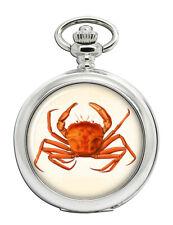 optionale Gravur Krabbe Volle Sprungdeckel Taschenuhr Jewelry & Watches