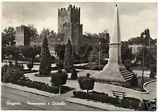 REGGIOLO - MONUMENTO E CASTELLO (REGGIO EMILIA) 1961