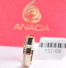 1 Damenring - Verlobungsring - Gold 333 mit 20 Brillanten je 0,01ct - Breite 5mm