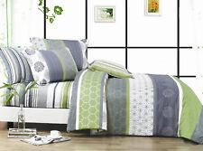 *DEXTER* Double/Queen/King/Super King Size Bed Quilt/Doona/Duvet Cover/Sheet Set