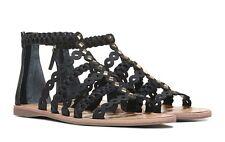 Franco Sarto Women's Beryl Black Studded Gladiator Sandal - Assorted Sizes