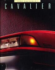 1988 Chevrolet Cavalier 36-page Original Sales Brochure - Chevy Z24