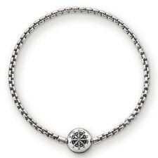 KA0002 New Genuine Thomas Sabo Darkened Sterling Silver Karma Bead Bracelet £59