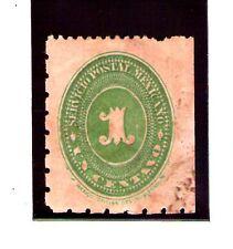 Mexico Cifra valor del año 1886 (AC-81)