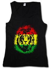 RASTAFARI LION II WOMEN TANK TOP Bob Reggae Music Marley Jamaica Haile Selassie