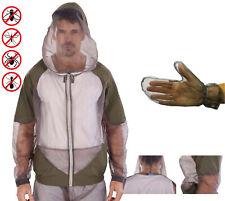 Behr Mosquito Jacke Mückenschutz Mückennetz mit Handschuhen Gr. M-XXL