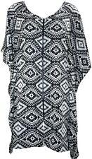 Printed Kaftan Dress Plus Size Dress  Beach Cover Boho Dress Mother's Day Gift