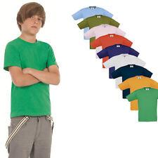 B&C Kinder Kurzarm T-Shirt Kids verschiedene Größen und Farben