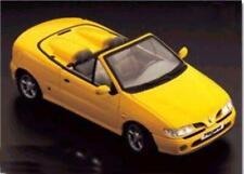 1:18 Anson Renault Megane Convertible blue or yellow MIB